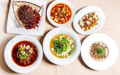 7-Course Sichuan Cuisine Dinner for 4 - 5 People