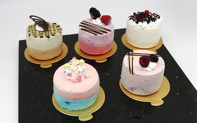 Mono Portion Cakes (Set of 5 x 80gm)