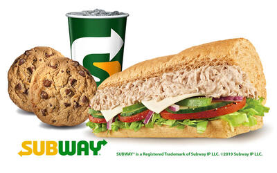 Two (2) 6-Inch Sandwiches + Two (2) Cookies + One (1) 22oz Drink