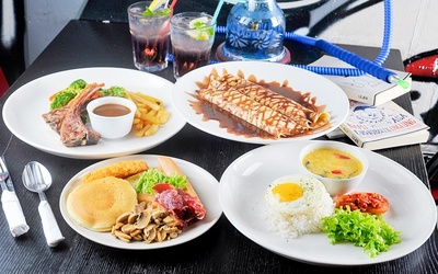 RM10 Cash Voucher for A la Carte Food and Drinks