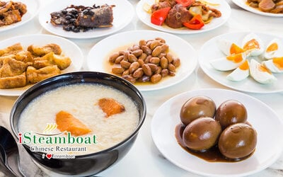 (Mon - Thu) Lunch Porridge Buffet for 1 Person