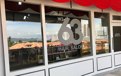 Hair Cut + Wash + Blow for 1 Person (Female Only)