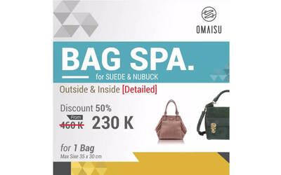 Detailed Bag Spa for 1 Suede or Nubuck Bag