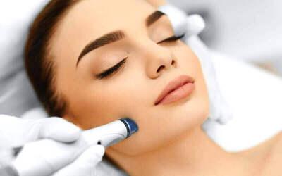 1x Micro Diamond / Microdermabrasi (Facial Washing + Face Massage)