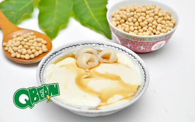 Four (4) Chilled Tau Fu Fa (Soybean Pudding) with Longan Topping