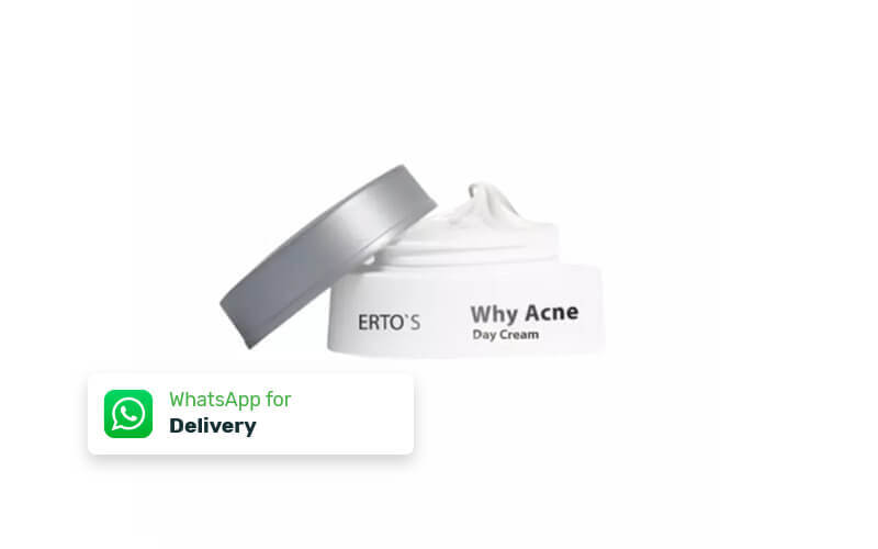 Free Delivery - Erto's Why Acne Day Cream