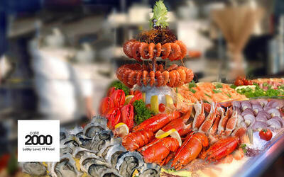 (Sun - Thu) Crab and Seafood Extravaganza Dinner Buffet for 1 Child