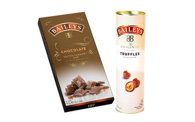 1 Baileys Truffle Tube For 1 Baileys Salted Caramel Bar