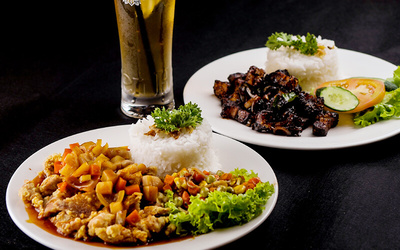 Buy 2 Free 1 Set Lunch with Soup and Drinks