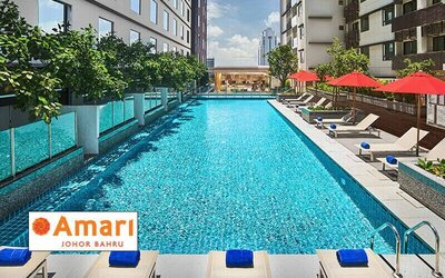 Johor Bahru: 2D1N Stay in Superior Room with Breakfast for 2 People