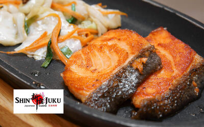 Teppanyaki Salmon Set for 1 Person