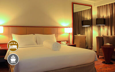 (Free and Easy) I-Hotel Baloi Batam: 2D1N Stay in Superior Room with Return Ferry for 1 Person