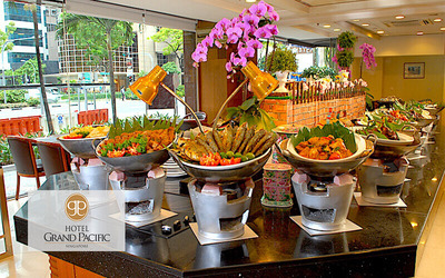 (Sat - Sun) Peranakan Lunch Buffet for 2 People