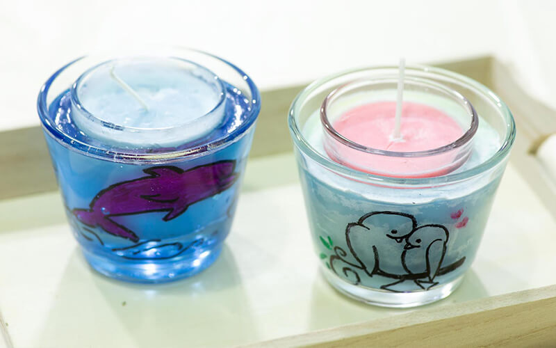 1.5-Hour Candle Making Workshop with Glass Holder for 2 People
