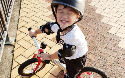 30-Min Bike Balancing Lesson for 1 Child (4 Sessions)