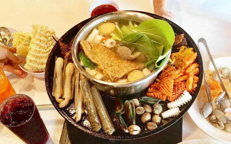 Hot Pot Buffet for 2 People