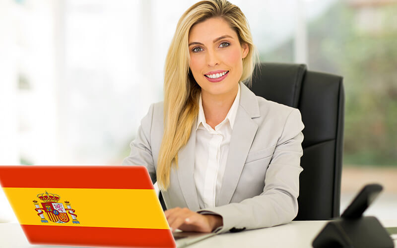 6-Month Accredited Beginner and Advanced Spanish Course with International Certificate for 1 Person