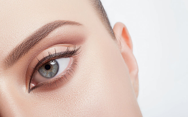 Korean Natural Eyebrow Embroidery with One (1) Touch-Up for 1 Person