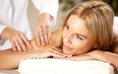1.5-Hour Full Body Massage with Lymphatic Shoulder Massage for 2 People