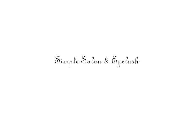 Simple salon & eyelash featured image.