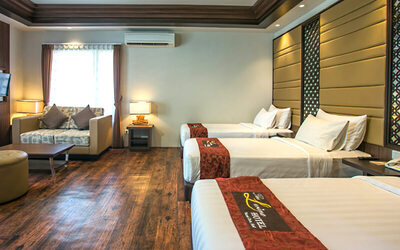 Nusa Dua: 2D1N in Family Suite Room + Breakfast (for 3)