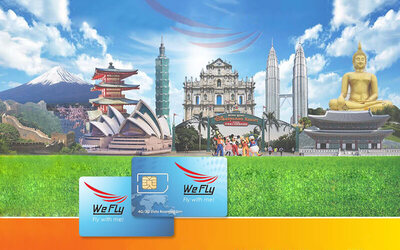 APAC: 15-Day 4G/3G Unlimited Data Roaming SIM Card for 9 Countries + Mail Delivery