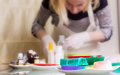 3-Hour Soap-Making Workshop for 2 People