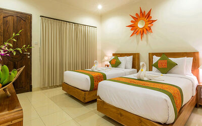 Ubud: 3D2N in Superior Room + Breakfast + Massage + Afternoon Tea + Yoga Class