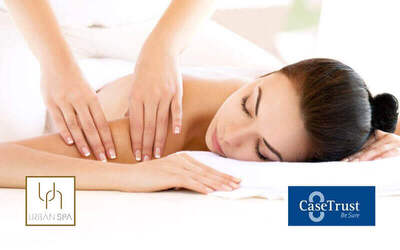 75-Minute Swedish or Aromatherapy Massage and Back Scrub for 2 People