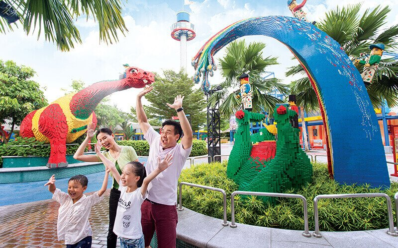Johor: Admission to Legoland Theme Park and Water Park for 1 Child