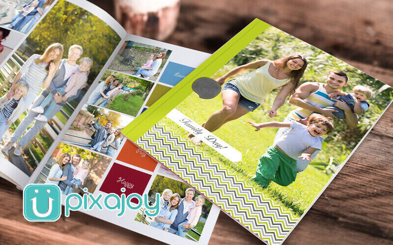 """Softcover 10"""" x 8"""" Portrait Photo Book (40 Pages)"""