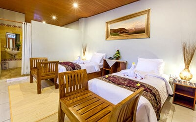 Gianyar: 4D3N in Deluxe Valley View + Breakfast + Massage