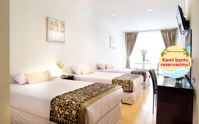 Cipanas: 2D1N in Deluxe Room + Breakfast