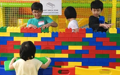 (Tue - Fri) Admission Pass to BLOKKE Playhouse for 1 Child