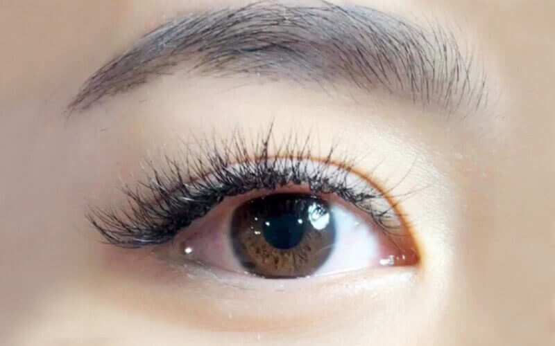 6D Korean Eyelash Extension with Unlimited Lashes for 1 Person