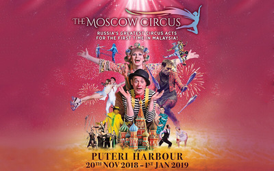 Johor Bahru: (Family Package) Ringside Admission Ticket to The Moscow Circus for 4 People