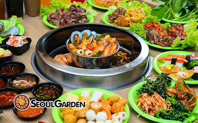(Mon - Sun) Korean Lunch Buffet for 1 Person