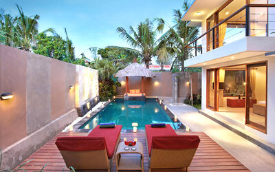 Bali: 3D2N at One Bedroom Villa with Private Pool + Breakfast