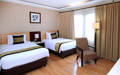 Bandung: 2D1N in Deluxe Room + Breakfast for 2 Pax