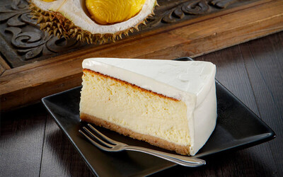"""One (1) 7"""" Premium Home-Baked Durian Cheesecake"""