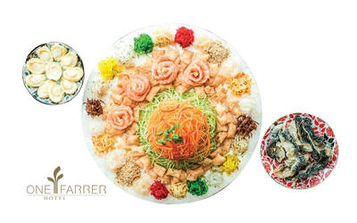 [CNY] One Farrer Hotel: One (1) Signature Yu Sheng for 4 - 6 People