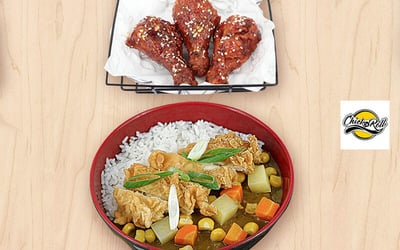 Mini Chicken (2 Pcs Thighs / 3 Pcs Drums / 4 Pcs Wings) + JCurry