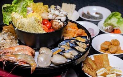 (Tue-Thu) Steamboat and Grill Buffet for 1 Person