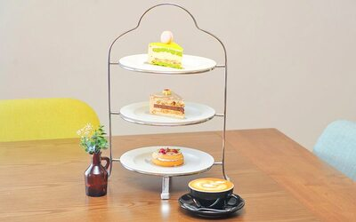 Dessert Tower for Up To 3 People