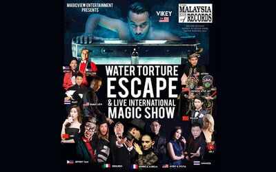 Early Bird Magic Deal: One (1) Silver Ticket to KL Live Magic Show for 1 Adult