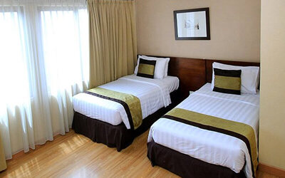 Bandung: 2D1N in Executive Suites 3 Bedroom + Breakfast for 4 Pax