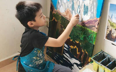 1.5-Hour Creative Art Class for 1 Child