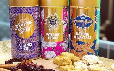 MBS Outlet: Five (5) Tins of Cookies