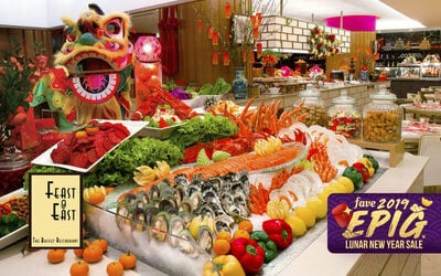 [Epig 2019] Grand Mercure Roxy Hotel: (Thu - Sun) Chinese New Year Buffet Dinner for 1 Child