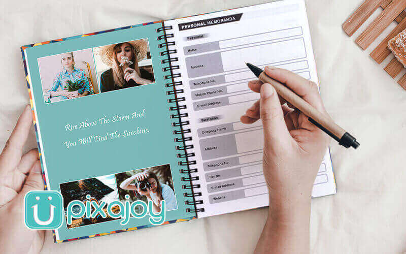 One (1) Personalised Hardcover Notebook